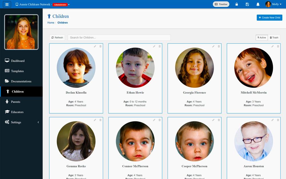 Family Daycare App Children