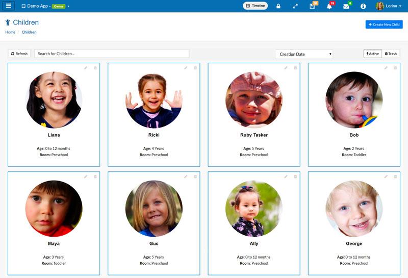 free childcare app