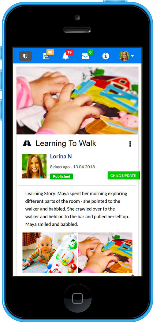 Free Childcare Documentation App