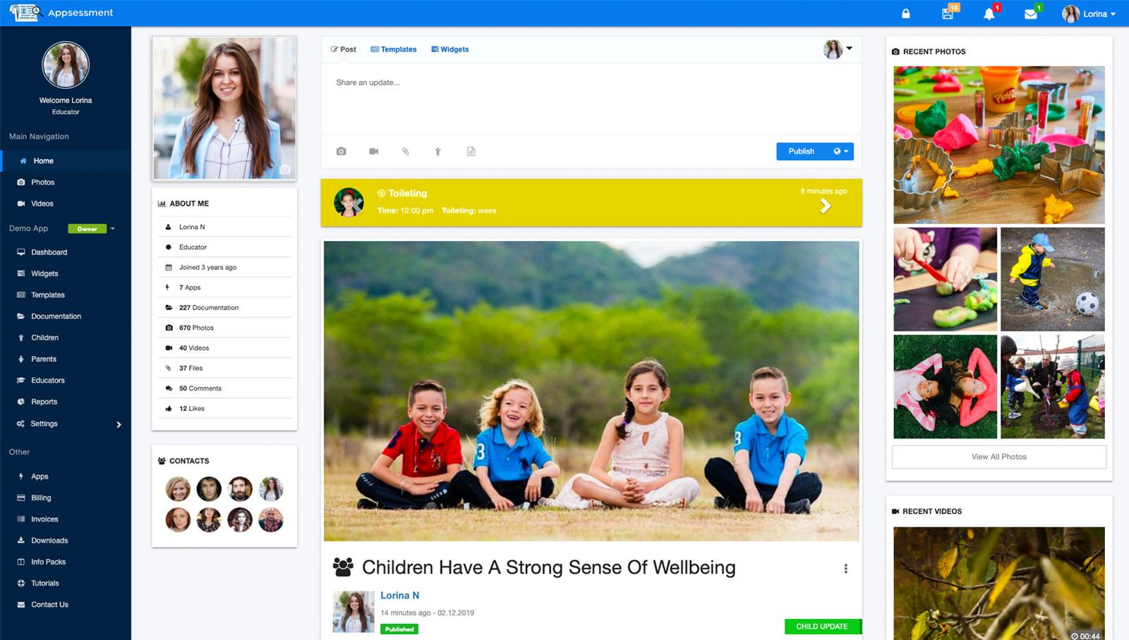 Child care App
