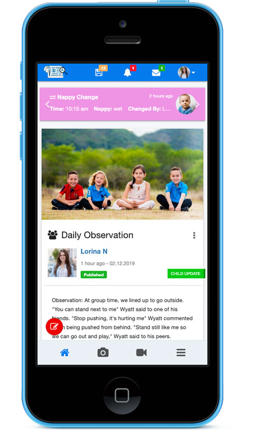 Childcare Documentation App