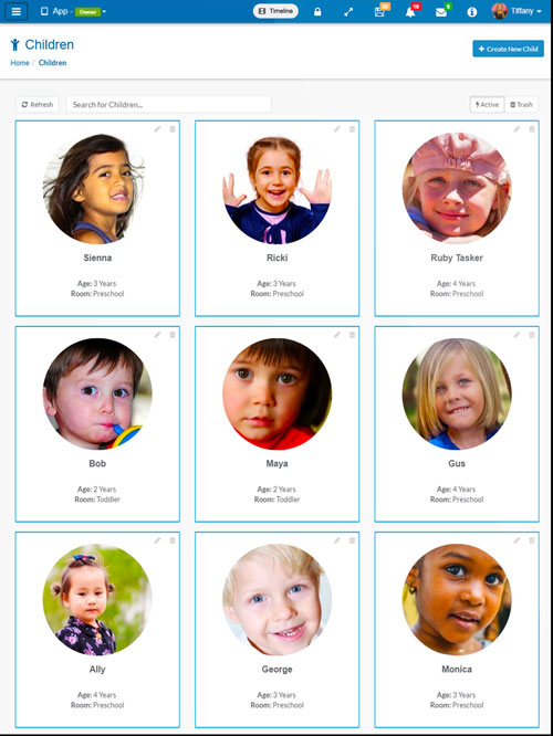Childcare Daily Diary App