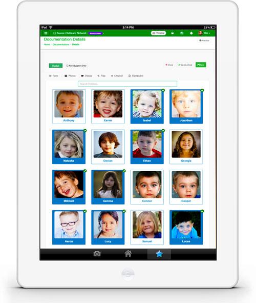 Childcare Curriculum Plan App