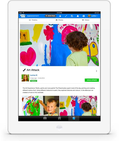 Daycare Parents App