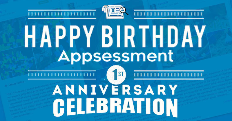 Appsessment 1 Year Anniversary