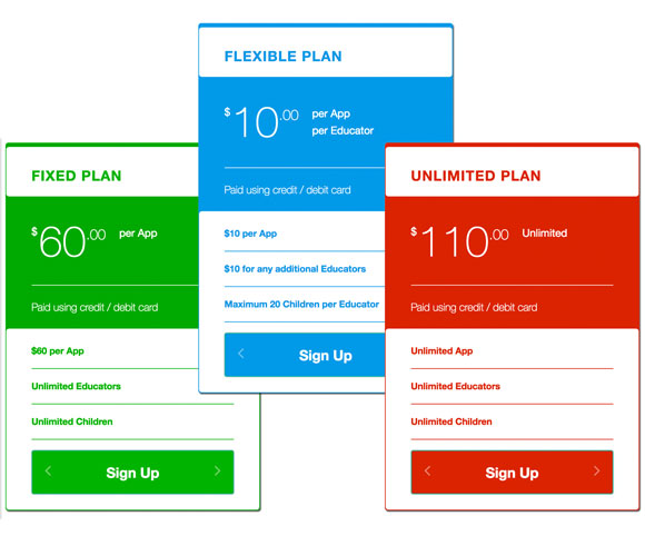 App Subscription Plans