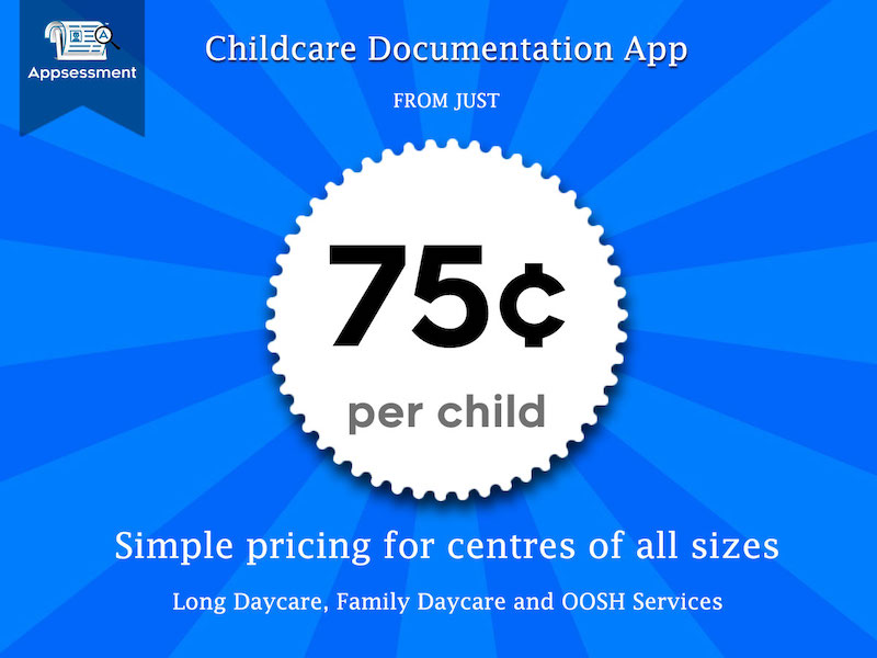 Childcare App Pricing 75c Per Child