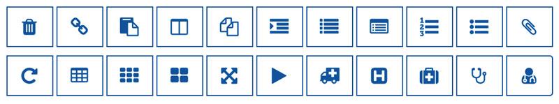 EYLF Template App Icons